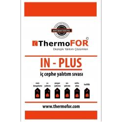 In Plus İç Cephe Yalıtım Sıvası (ThermoFOR) 12 Kg/Adet